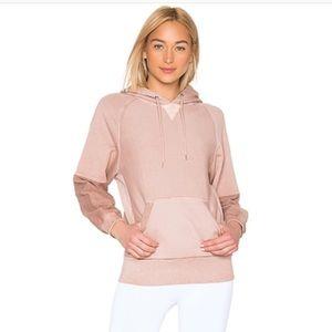 Free people pink hoodie